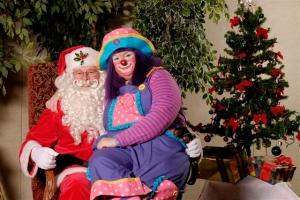 Kookie and Santa 2007